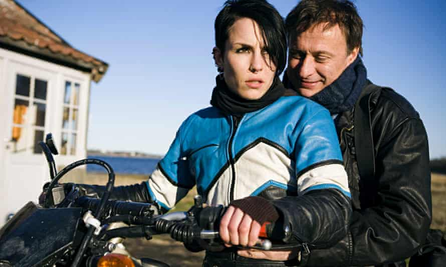 Noomi Rapace and Michael Nyqvist in the 2009 film adaptation of The Girl with the Dragon Tattoo