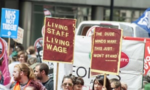 National Demonstration living wage