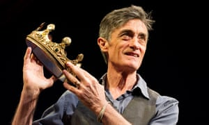 Roger Rees in What You Will at the Apollo Theatre.