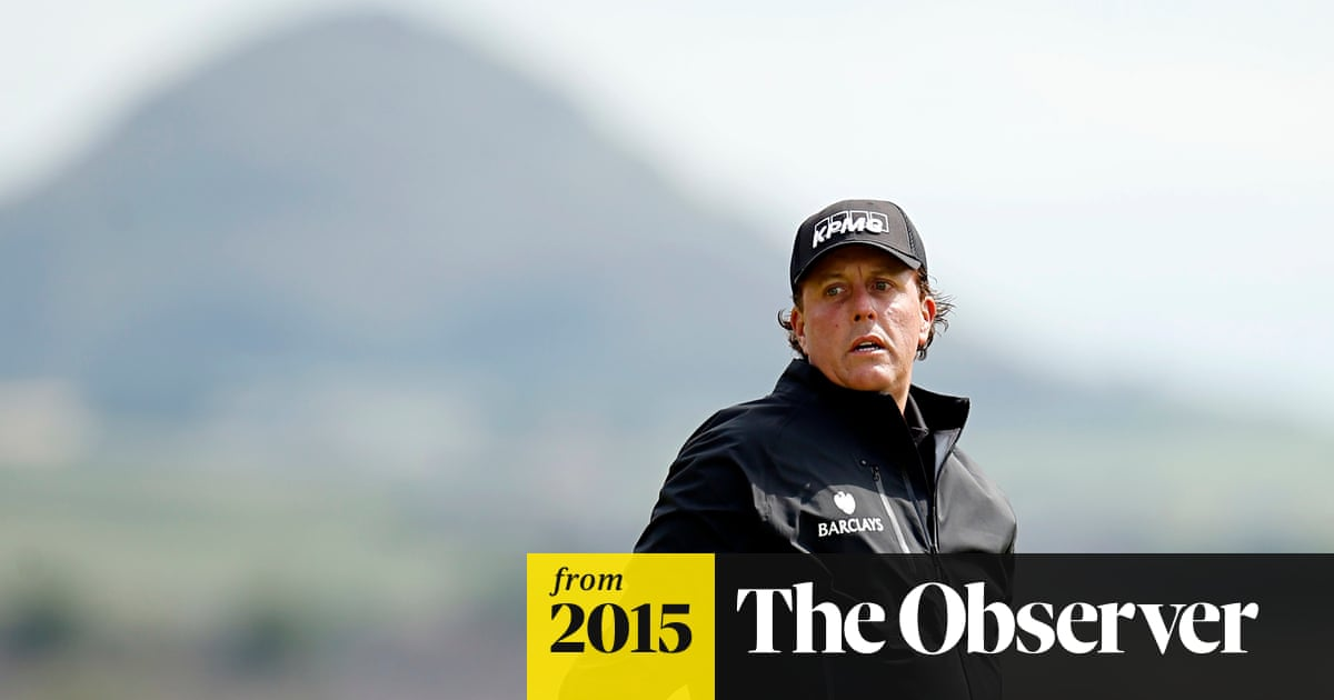 Scottish Open 2015 Phil Mickelson Picks Up Form For Open Challenge