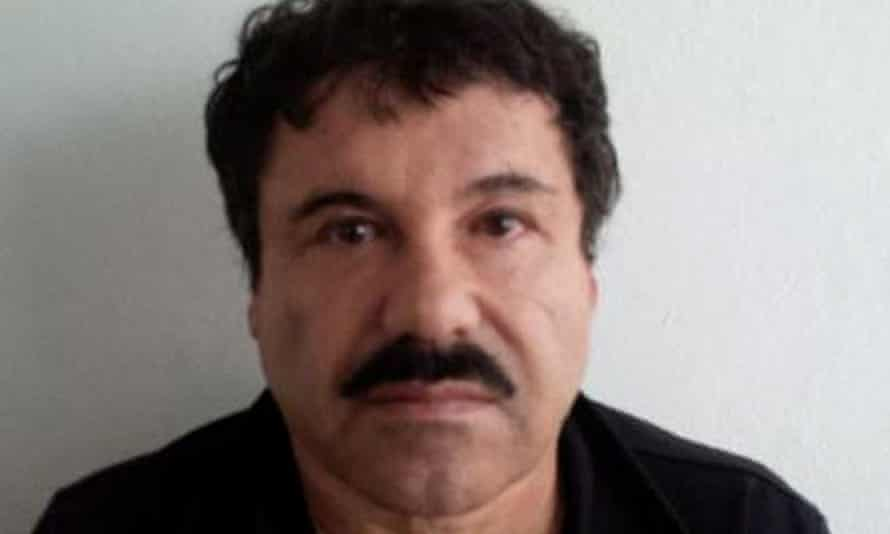 Mugshot of Joaquin Guzman who has gone missing from prison again.