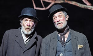 Roger Rees, right, with Ian McKellen in Waiting for Godot in 2010.