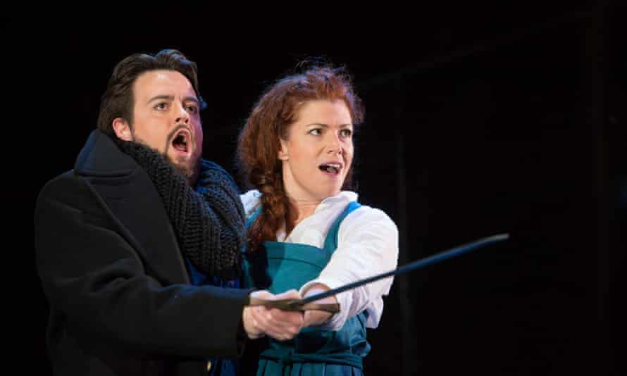 Ben Johnson as Carlo and Kate Ladner as Joan.