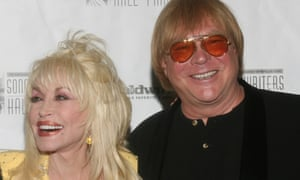 Michael Masser with Dolly Parton in 2007.