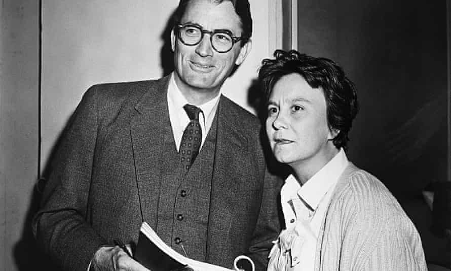 Gregory Peck and Harper Lee