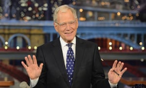 David Letterman hosts his final broadcast of the Late Show.