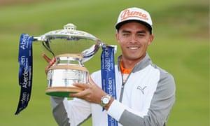 Rickei Fowler wins Scottish Open