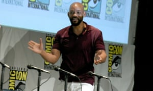 Will Smith attends the Suicide Squad panel at this year's Comic-Con.