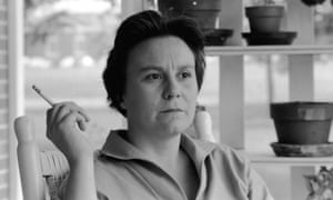 Harper Lee pictured at her parents' home in Monroeville, Alabama in 1961.