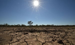 Extreme drought in northern Australia.