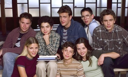 The cast of Judd Apatow's TV comedy Freaks and Geeks