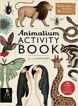 Making Contributions To Katie Scotts Animalium Activity Book Is An Even More Sophisticated A Wonderful New Addition The Award Winning Original