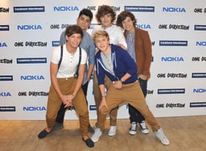 Louis Tomlinson, Zayn Malik, Liam Payne, Niall Horan and Harry Styles of One Direction, 2011