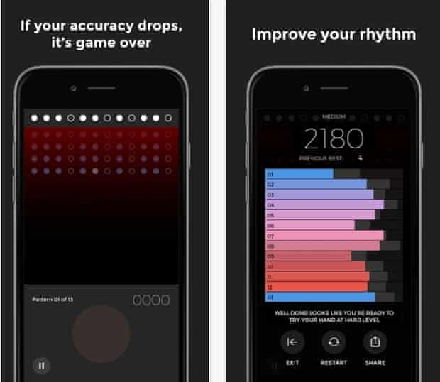 Try your hands … the Steve Reich Clapping Music app