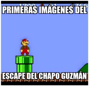 El Chapo Cartoon Escape