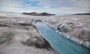 Global warming is causing rain to melt the Greenland ice