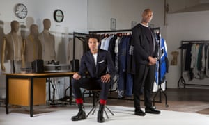 Joe Casely-Hayford, OBE and his son Charlie