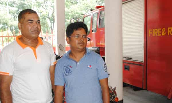 Redowan Ahmed Srabon and Khairul Islam became urban volunteers two years after both helped rescue work following the collapse of Rana Plaza in Dhaka.
