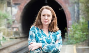 Paula Hawkins - author of 'The Girl on the Train'.