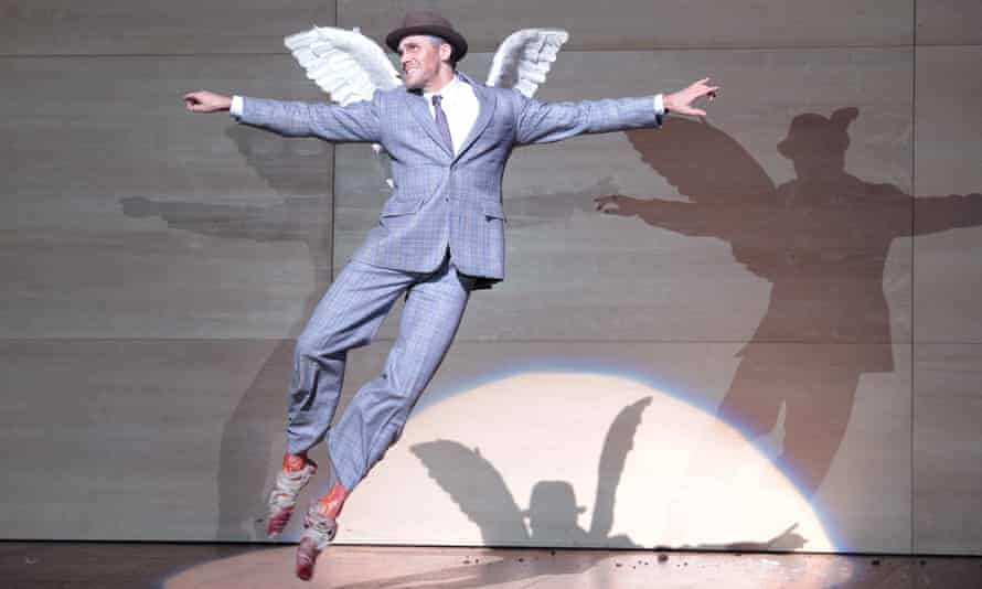 Ed Lyon as Mercury in Kosky's production of Castor and Pollux at the London Coliseum.