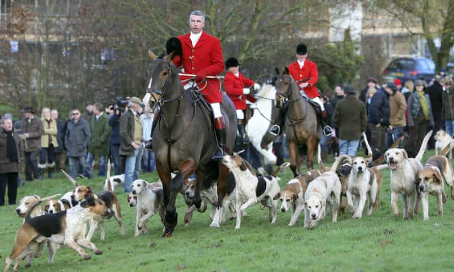 The Albrighton & Woodland Hunt in 2009.