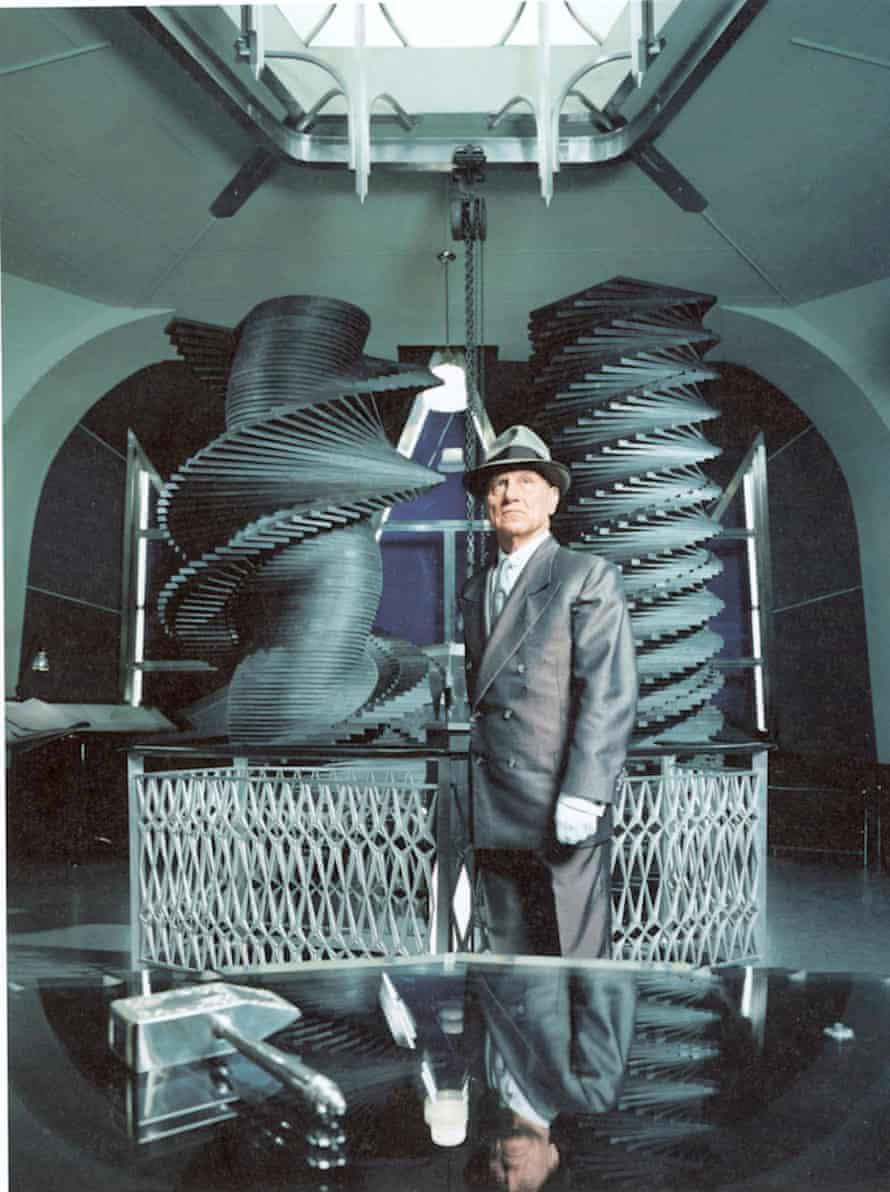 Richard Serra as Hiram Abiff from Matthew Barney's Cremaster Cycle.
