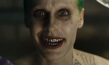 Killing it ... Jared Leto as the Joker in Suicide Squad.