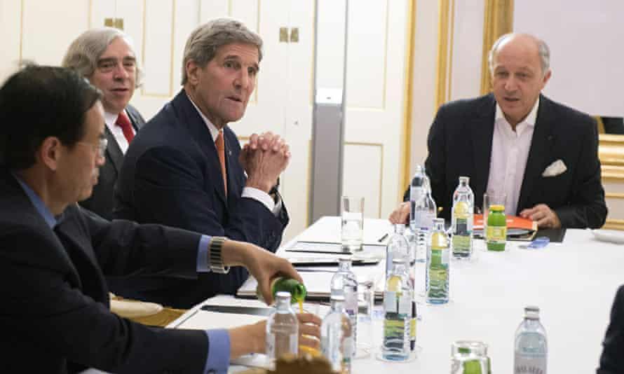 US secretary of state John Kerry iran nuclear talks vienna