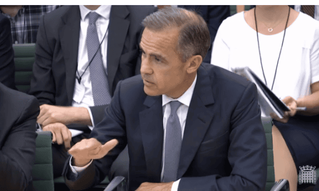Carney at Treasury Committee