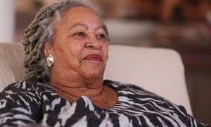 Toni Morrison … you want to fall at her feet and worship as she talks.