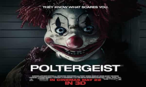 Poltergeist poster: cleared by the ad watchdog