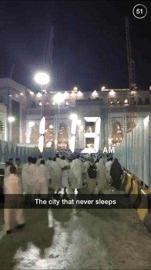 Mecca snapchat