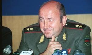 Boris Yeltsin's former chief bodyguard Alexander Korzhakov.