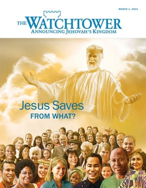 Essentially it is Bible quotations with dire warnings, firm advice and tales of personal redemption ... The Watchtower