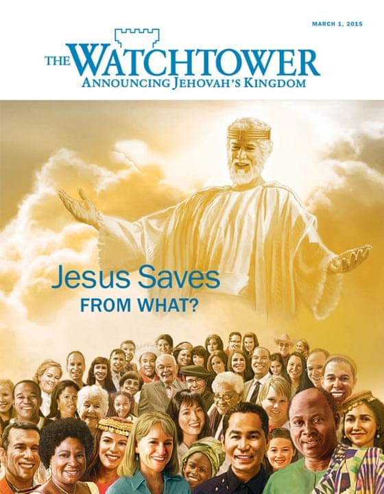 Jehovah's Witnesses take to streets as busy heathens are