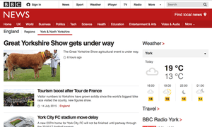 BBC website: not to blame for the decline in local newspapers