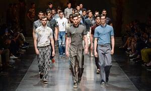 Dolce Gabbana show, Spring Summer 2016, Men?s Milan Fashion Week, Italy - 20 Jun 2015