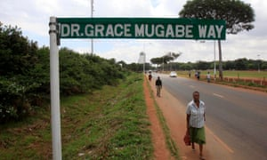 A road in Harare named after Zimbabwe's first lady.