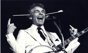 Comedian Steve Martin in Chicago in 1978