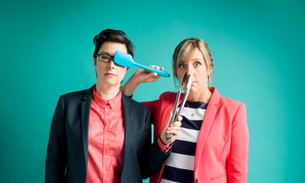 Sue Perkins and Mel Giedroyc.