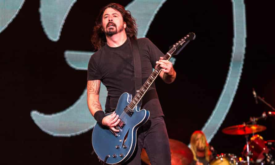 Foo Fighters with frontman Dave Grohl in 2014