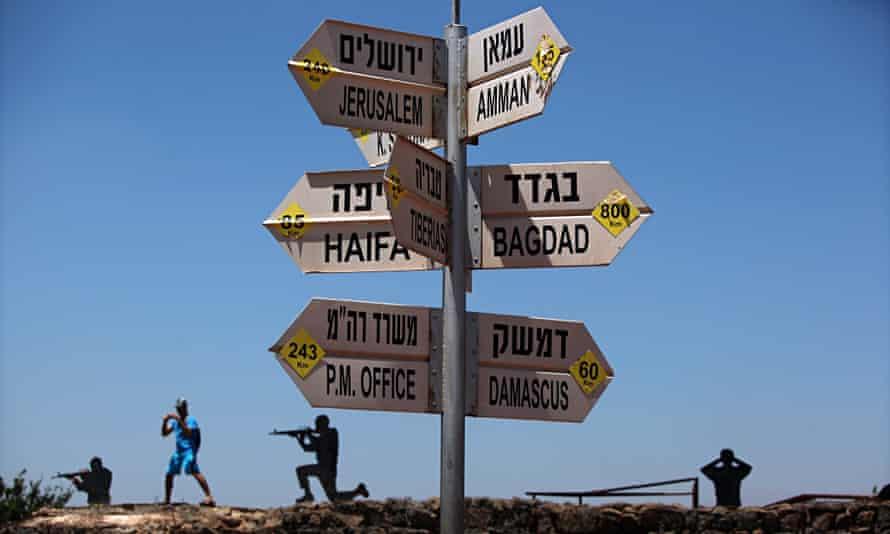 Army outpost near Syrian border