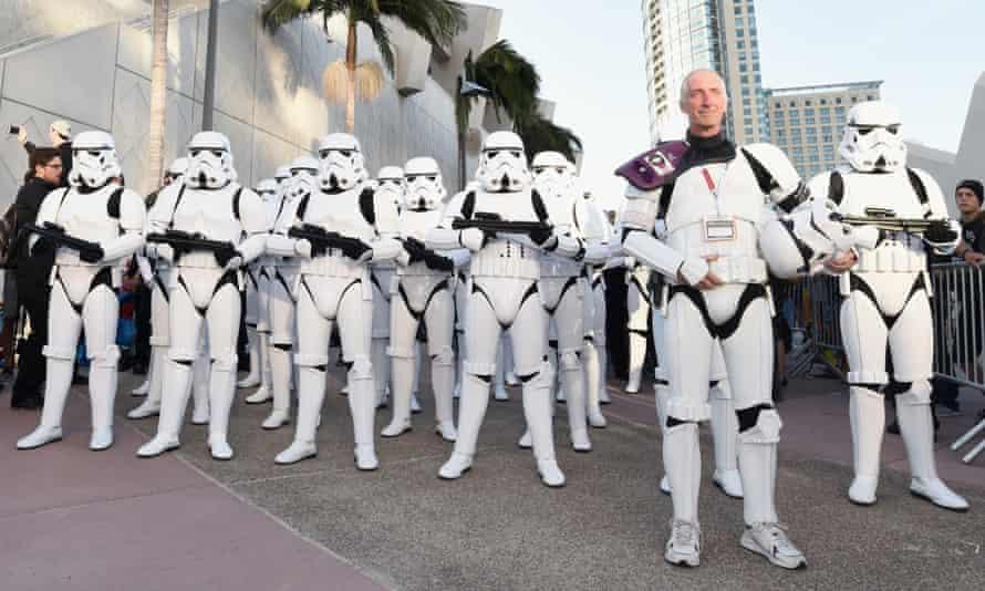 Surprise Star Wars concert