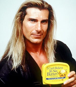 Fabio as the face of I Can't Believe It's Not Butter