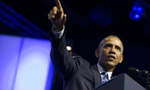 President Barack Obama speaks at the NAACP's 106th national convention at the Philadelphia Convention Center.