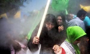 An al-Quds Day rally in Tehran