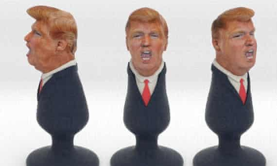This 3D-printed Donald Trump butt plug is, suffice to say, not official campaign merchandise.