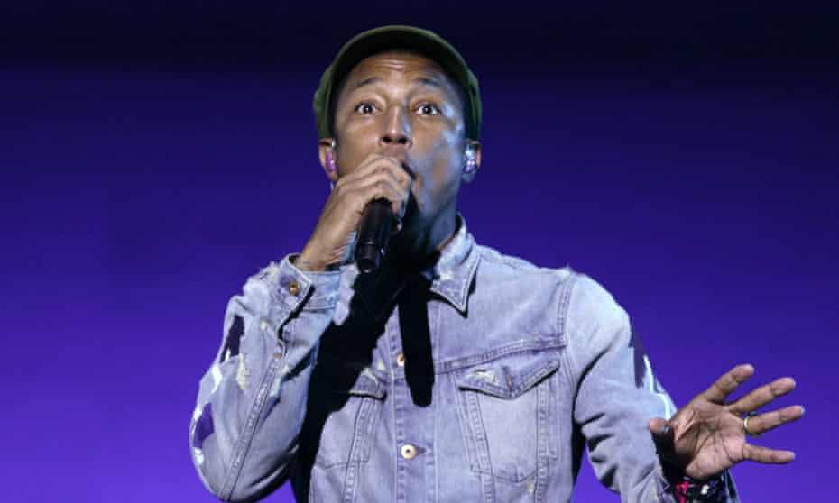 Pharrell … Cashback.
