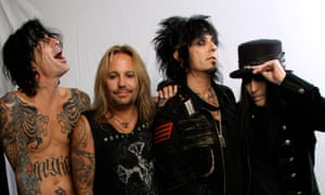 Mötley Crüe … They looked even better than this in the 1980s.