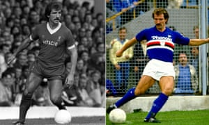 Graeme Souness's final act as a Liverpool player was to lift the 1984 European Cup. He then joined the Italian club Sampdoria for £650,000.